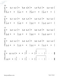 On Wings of Song-Numbered-Musical-Notation-Preview-4