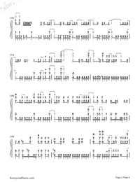 Fantastic Dreamer-Machiko Saito-Numbered-Musical-Notation-Preview-2