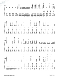 The Path to Heaven is Wide-Numbered-Musical-Notation-Preview-2