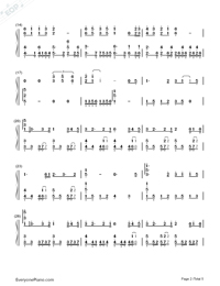 In the Name of People-Numbered-Musical-Notation-Preview-2
