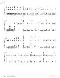 Ikutsumono Yoru wo Koete-Hatsune Miku-Numbered-Musical-Notation-Preview-4