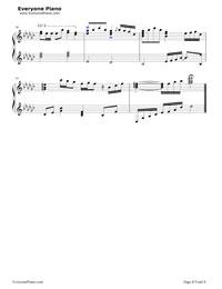 いくつもの夜を越えて-初音ミク五線譜プレビュー8
