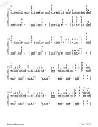 arisu ni sayonara-GUMI-Numbered-Musical-Notation-Preview-2