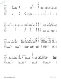 arisu ni sayonara-GUMI-Numbered-Musical-Notation-Preview-5