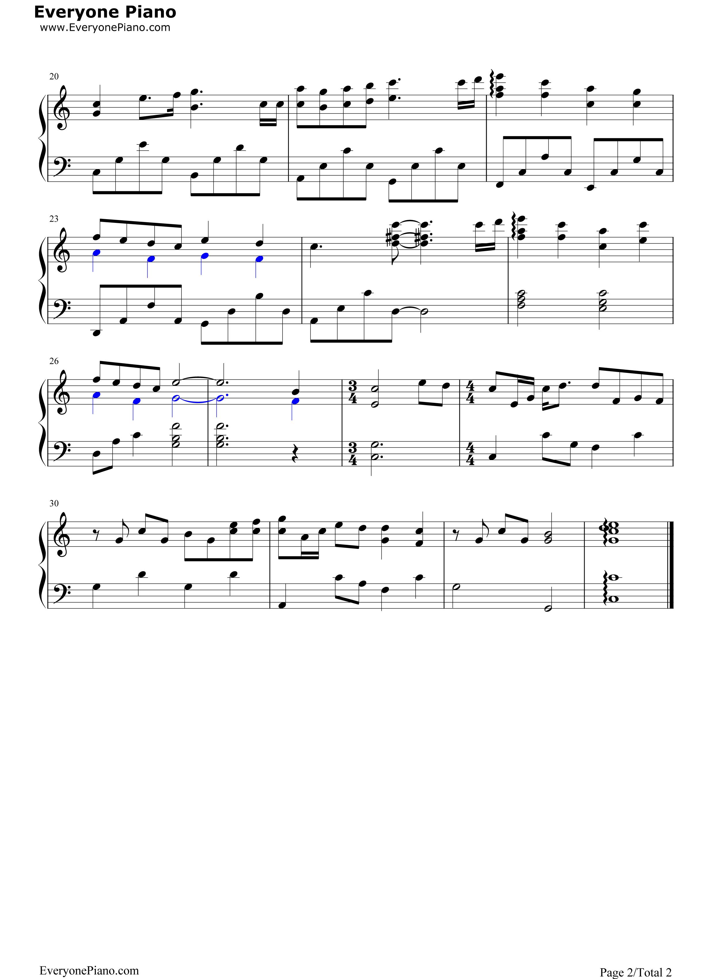 Tender love yang yang stave preview 2 free piano sheet music listen now print sheet tender love yang yang stave preview 2 hexwebz Images