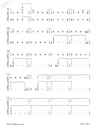 Nada-Shakira-Numbered-Musical-Notation-Preview-4