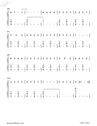 Happier-Ed Sheeran-Numbered-Musical-Notation-Preview-5