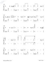Amar Pelos Dois Salvador Sobral Free Piano Sheet Music Piano Chords