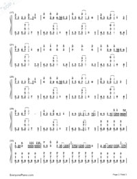 Room-Hatsune Miku-Numbered-Musical-Notation-Preview-2