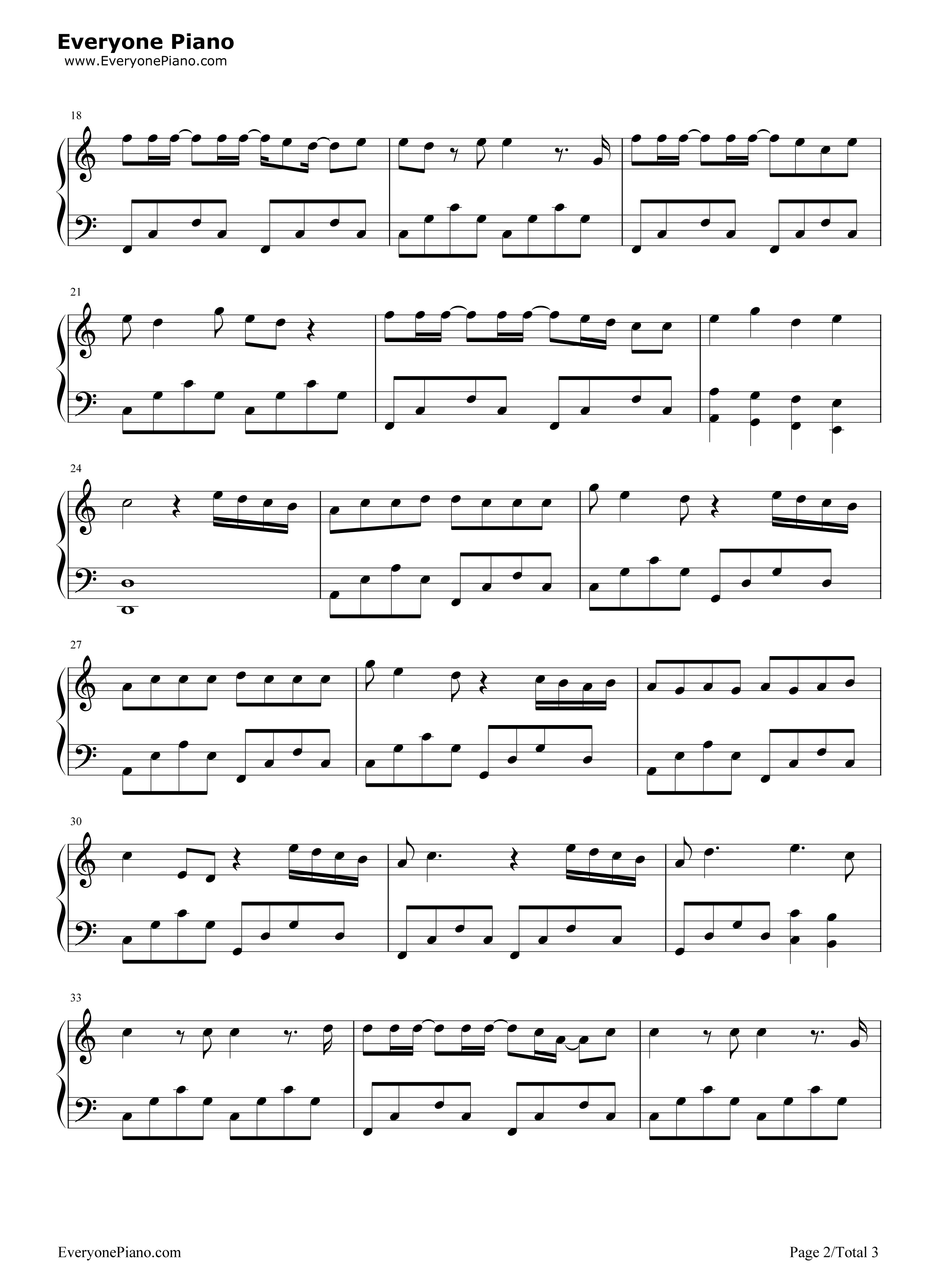little do you know piano sheet music pdf free