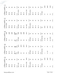 Sorry-Halsey-Numbered-Musical-Notation-Preview-2