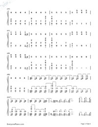 Sorry-Halsey-Numbered-Musical-Notation-Preview-3