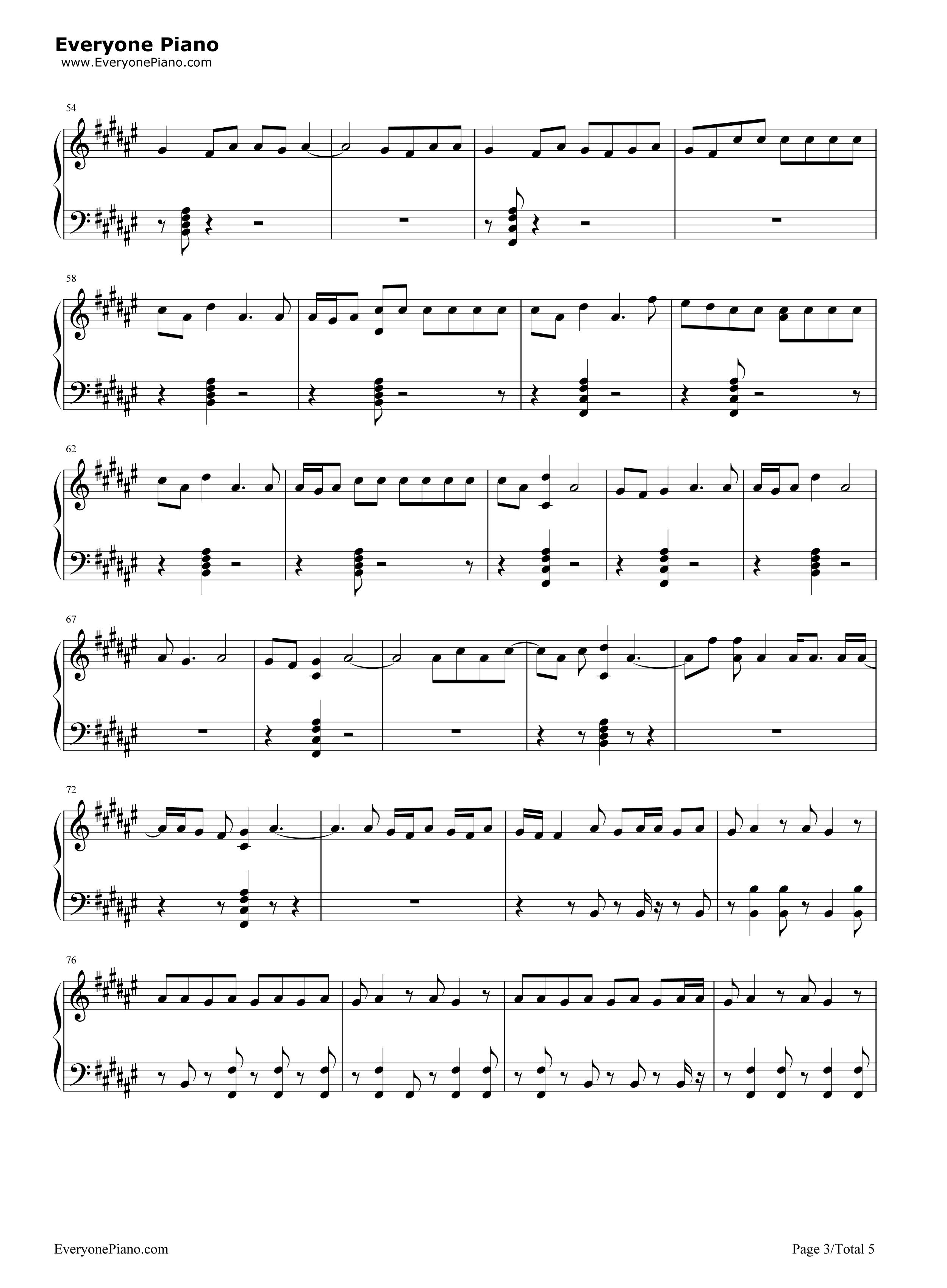 congratulations piano sheet music pdf