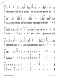 You Better Not Think About Me-Hebe Tien-Numbered-Musical-Notation-Preview-3