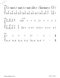 Senbonzakura Variation-Numbered-Musical-Notation-Preview-10
