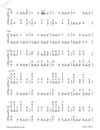 Senbonzakura Variation-Numbered-Musical-Notation-Preview-6
