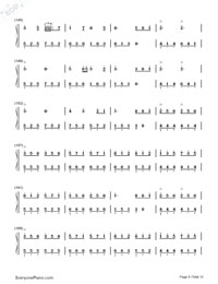 Senbonzakura Variation-Numbered-Musical-Notation-Preview-8