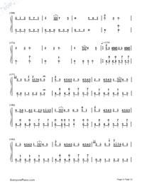Senbonzakura Variation-Numbered-Musical-Notation-Preview-9