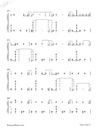 One Woman Man-John Legend Numbered Musical Notation Preview 4