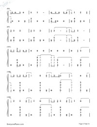 One Woman Man-John Legend Numbered Musical Notation Preview 6