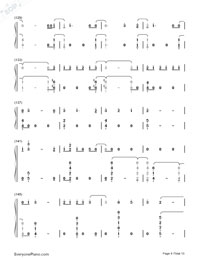 One Woman Man-John Legend Numbered Musical Notation Preview 8