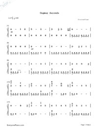 Oogway Ascends-Kung Fu Panda-Numbered-Musical-Notation-Preview-1