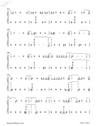 Wild Thoughts Numbered Musical Notation Preview 2