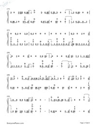 Hey Hey Hey-Katy Perry-Numbered-Musical-Notation-Preview-2