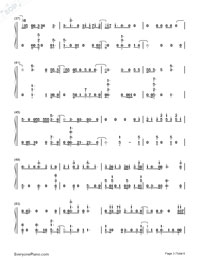 Hey Hey Hey-Katy Perry-Numbered-Musical-Notation-Preview-3