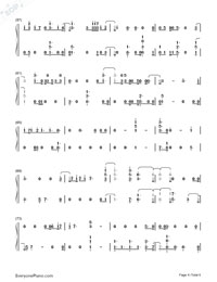 Hey Hey Hey-Katy Perry-Numbered-Musical-Notation-Preview-4