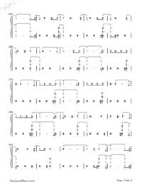 Witness-Katy Perry-Numbered-Musical-Notation-Preview-2