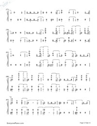 Witness-Katy Perry-Numbered-Musical-Notation-Preview-4
