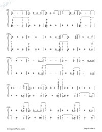 Witness-Katy Perry-Numbered-Musical-Notation-Preview-5