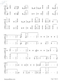 Witness-Katy Perry-Numbered-Musical-Notation-Preview-7