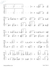 Witness-Katy Perry-Numbered-Musical-Notation-Preview-8