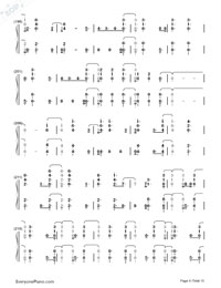 Witness-Katy Perry-Numbered-Musical-Notation-Preview-9
