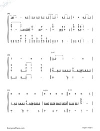 Abandon-Stefanie Sun-Numbered-Musical-Notation-Preview-4