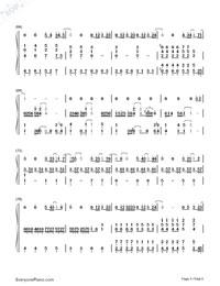 可惜沒如果-彈唱版雙手簡譜預覽5