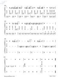 可惜沒如果-彈唱版雙手簡譜預覽6