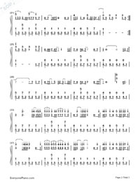 Everything In The World-Wanting Qu-Numbered-Musical-Notation-Preview-2