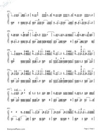 I Wanted You-Ina Wroldsen-Numbered-Musical-Notation-Preview-2