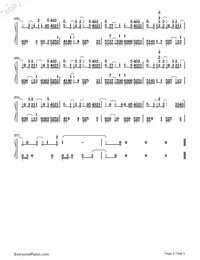 I Wanted You-Ina Wroldsen-Numbered-Musical-Notation-Preview-3