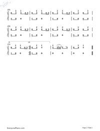 Stepped on a cat-Numbered-Musical-Notation-Preview-2