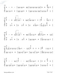 Baby, Don't Cry-EXO-Numbered-Musical-Notation-Preview-2