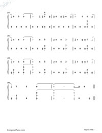 Hands Of Gold-Game of Thrones OST-Numbered-Musical-Notation-Preview-3