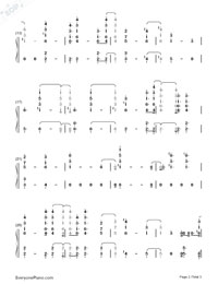 Black SpiderMan-Logic-Numbered-Musical-Notation-Preview-2