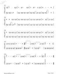 Rain in Jiang Nan-simple version-Numbered-Musical-Notation-Preview-2