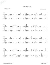 The Eve-EXO-Numbered-Musical-Notation-Preview-1
