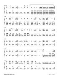 Super Star-S.H.E-Numbered-Musical-Notation-Preview-2