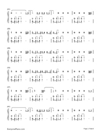 What About Us-P!nk Numbered Musical Notation Preview 2